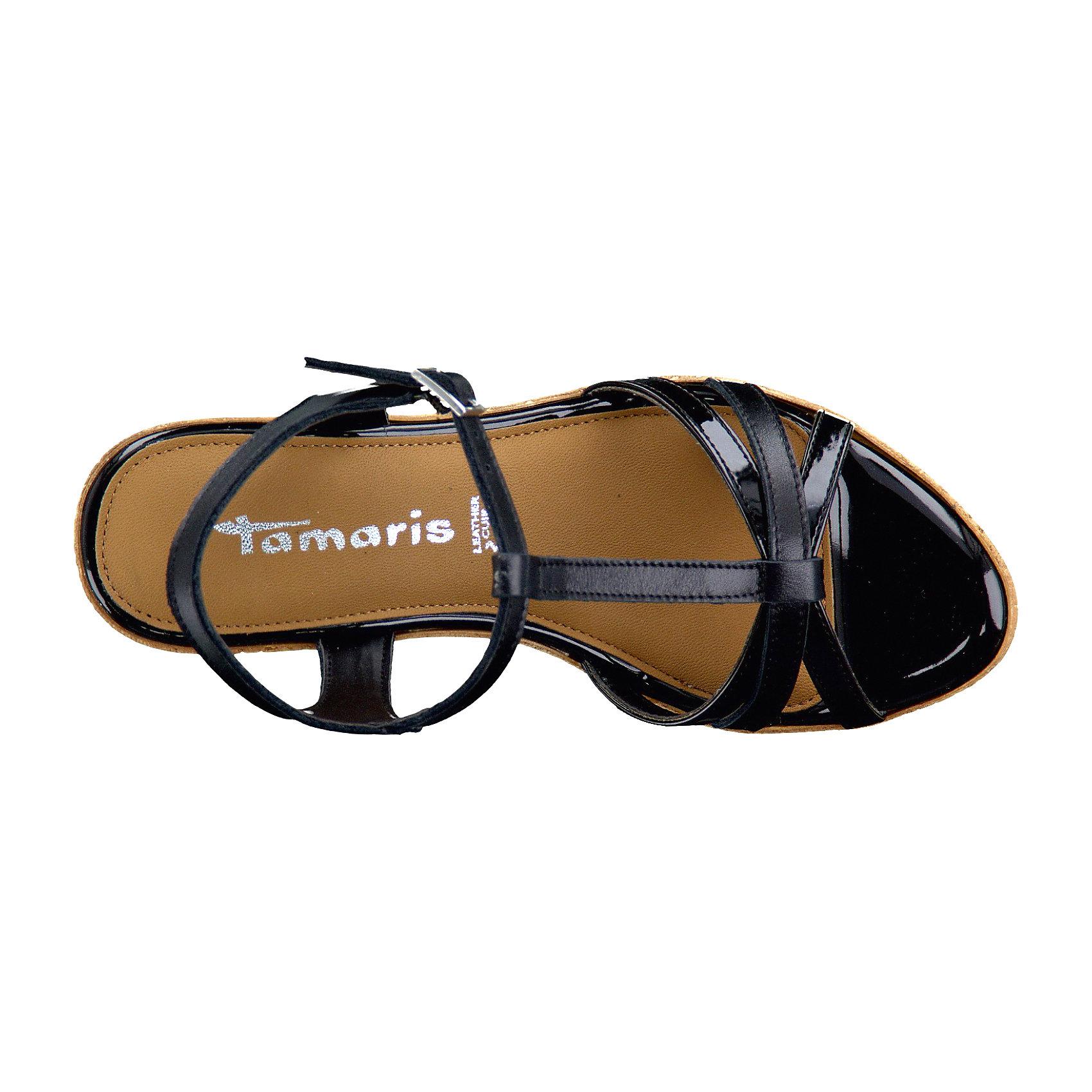 Neu Tamaris Vesila Sandaletten schwarz 5773044