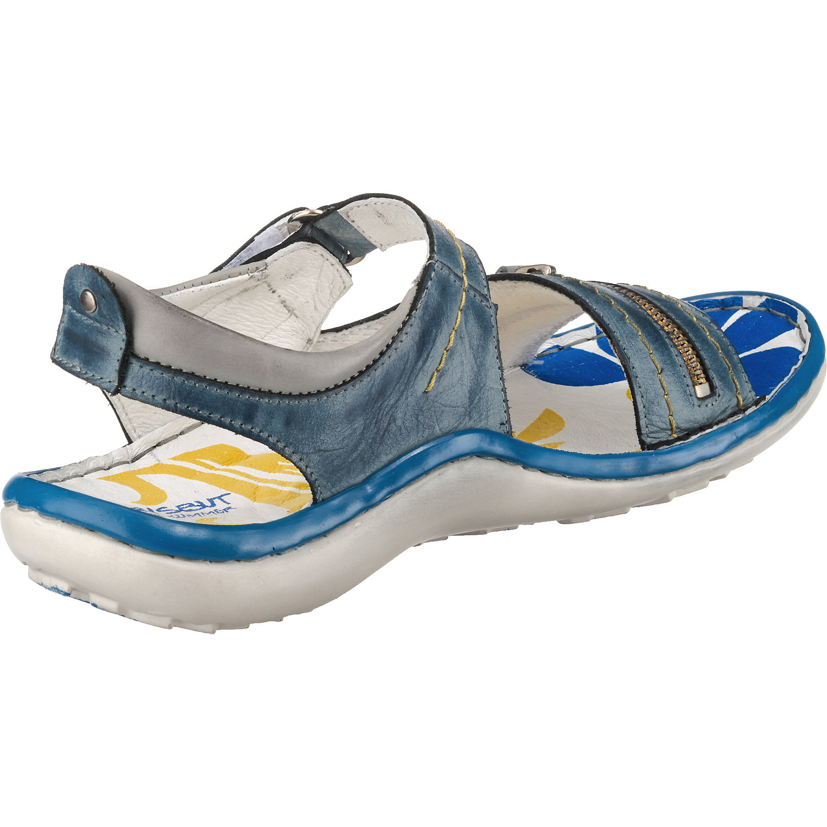 Neu Krisbut Sandaletten blau offwhite 5774425
