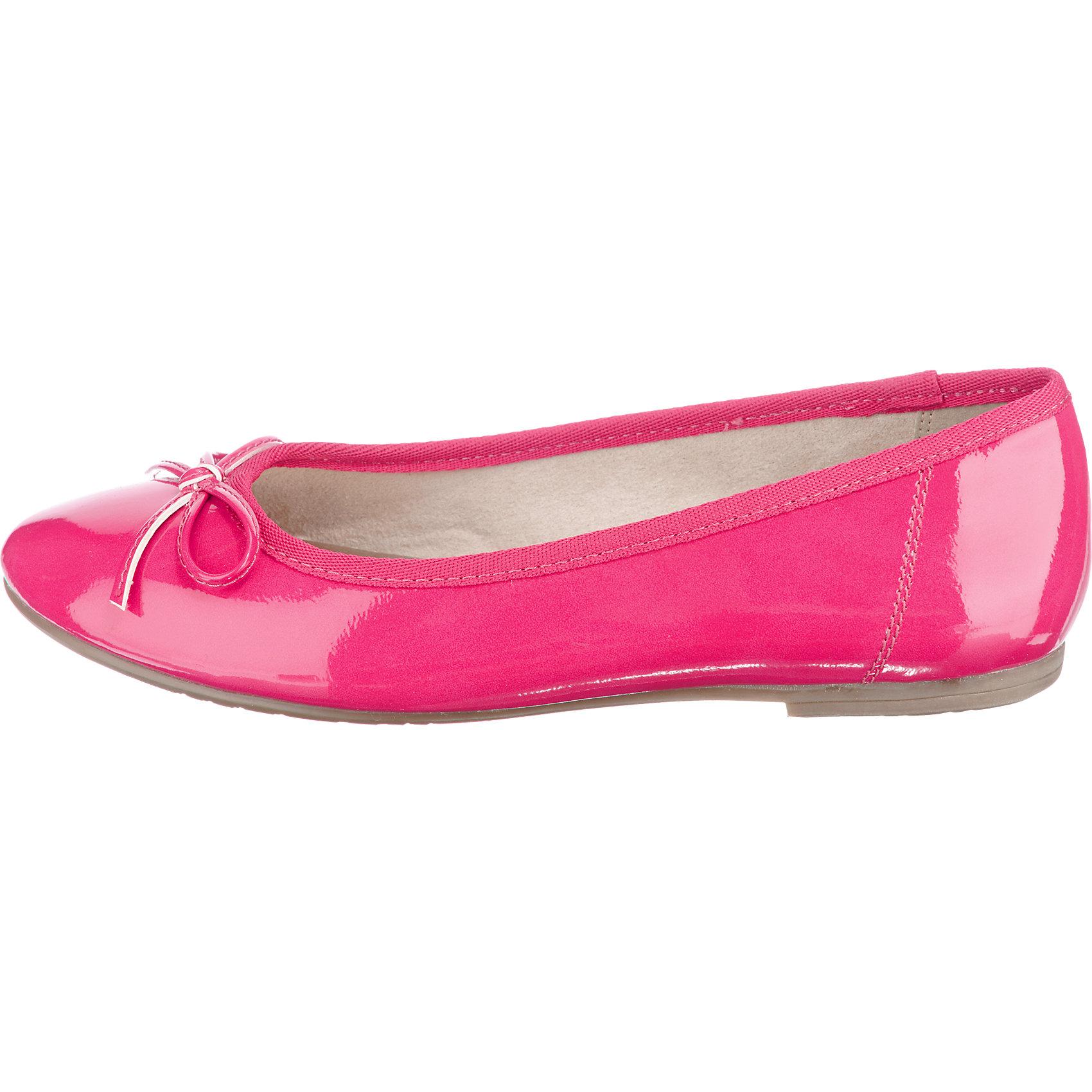 Neu Tamaris Crenna Pink Ballerinas Damen Auf Verkauf