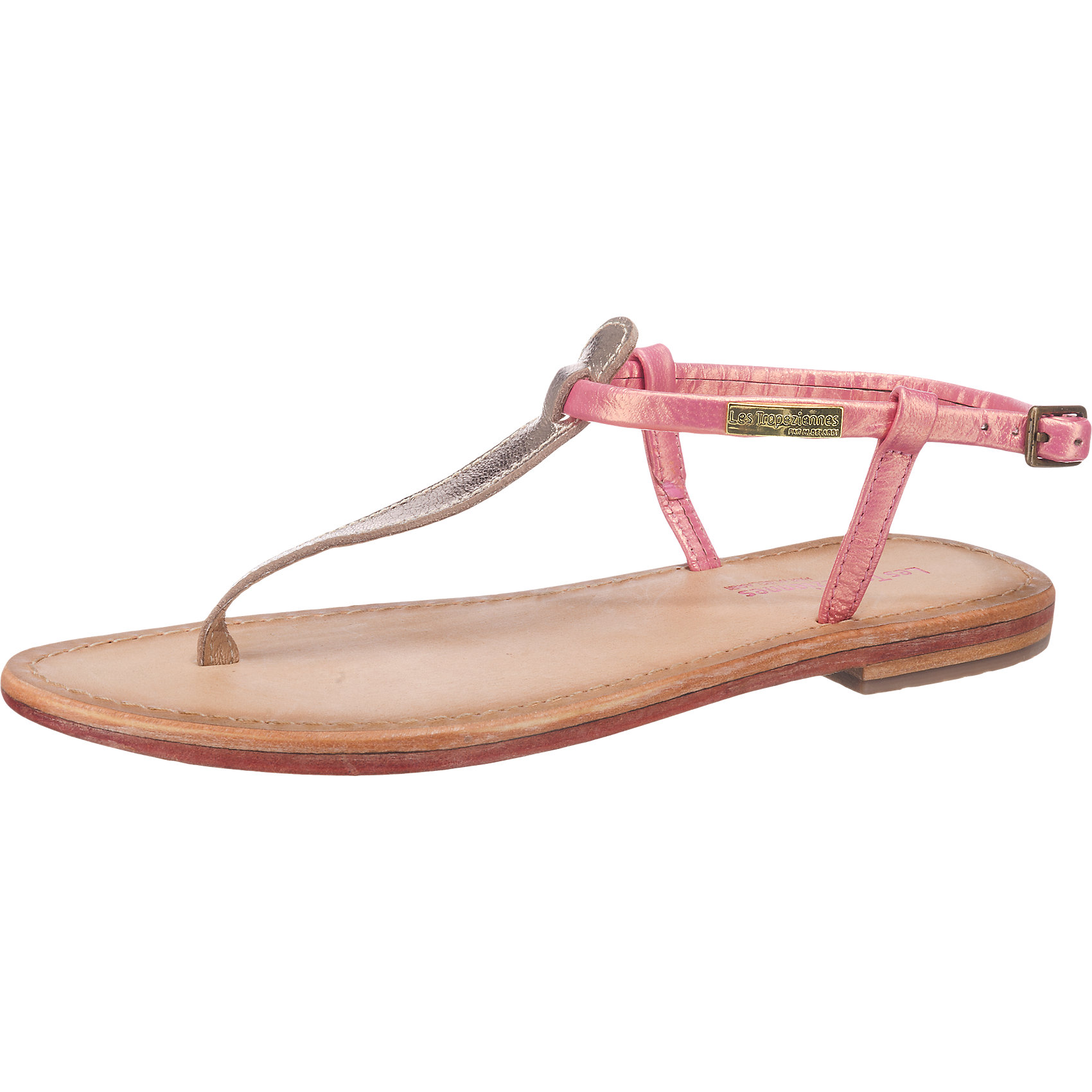 LES TROPEZIENNES Les Tropéziennes Narvil Sandaletten rosa gold silber 5774963