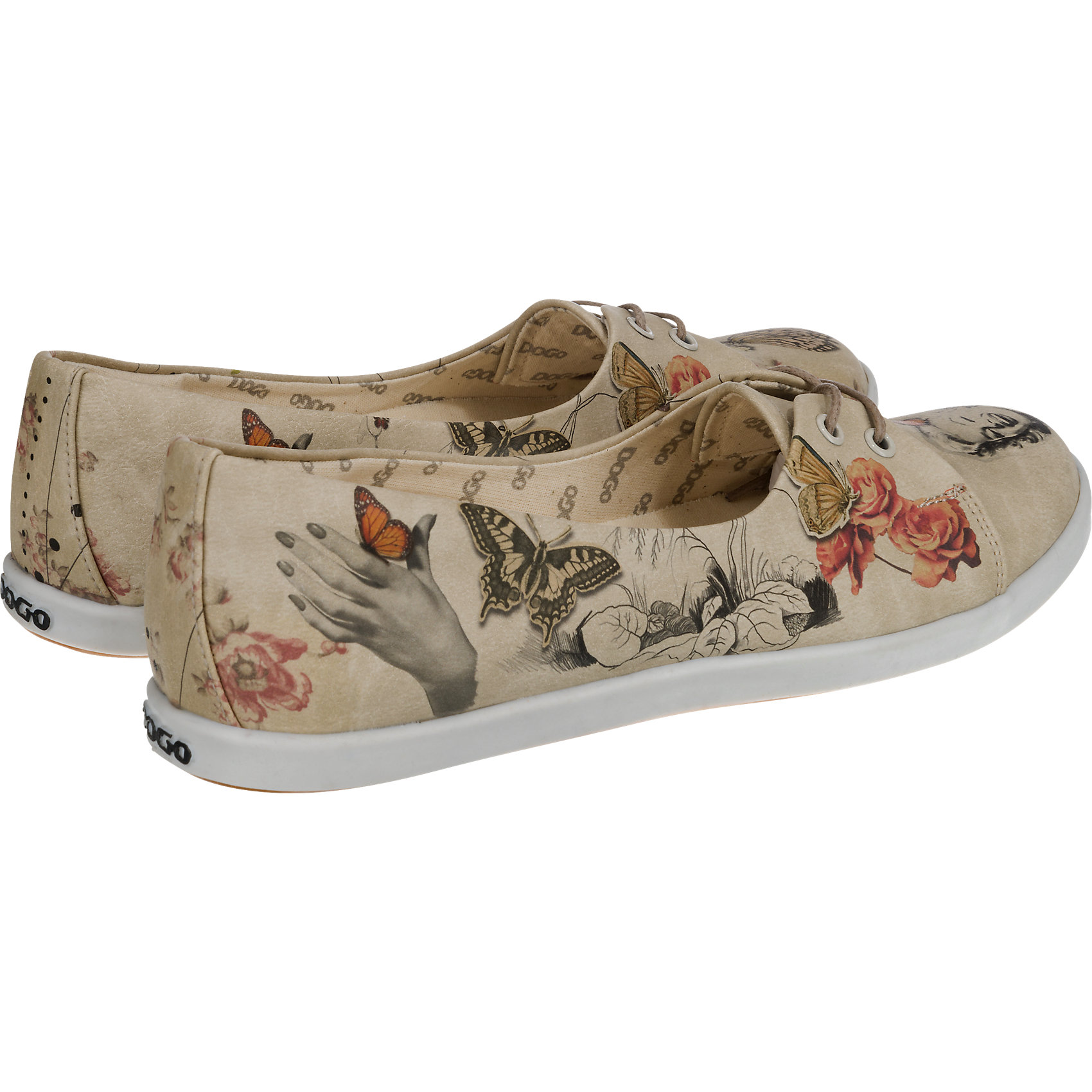 Neu-Dogo-Shoes-Marilyn-With-Butterflies-Sneakers-mehrfarbig-