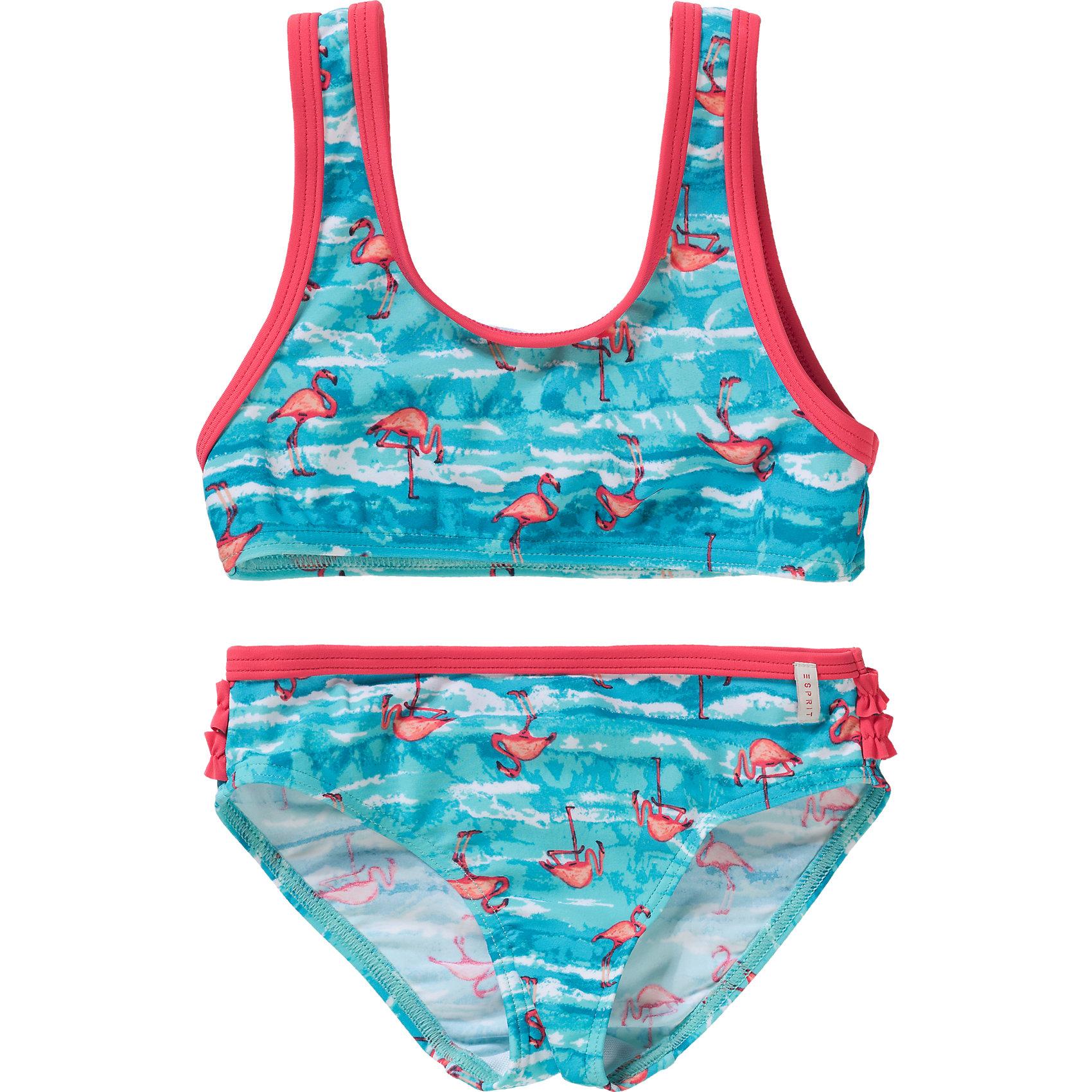 Flamingo 6060042 für Mädchen türkis Neu ESPRIT BODYWEAR Kinder Bikini
