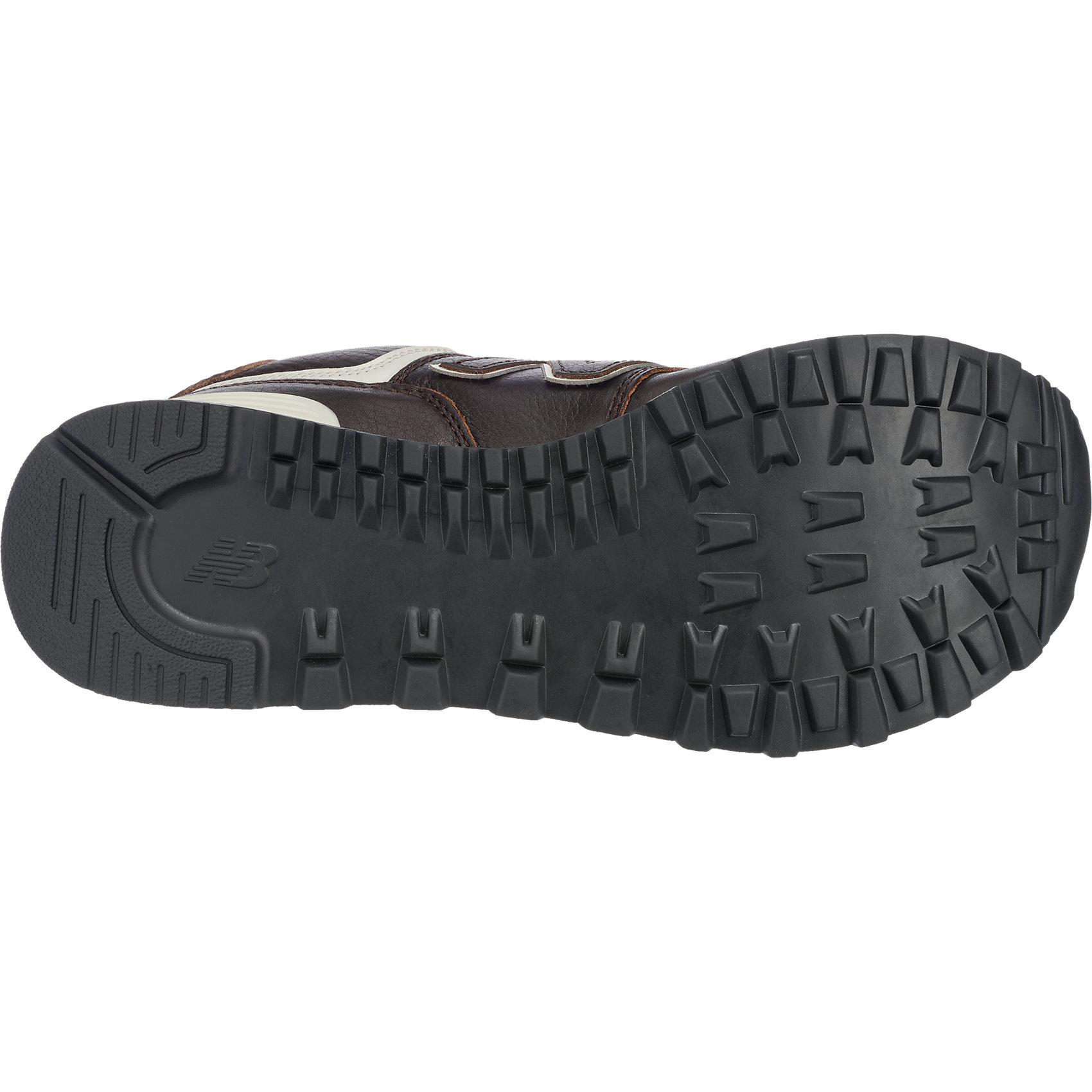 Neu new balance ML574 D Sneakers dunkelbraun 5777908