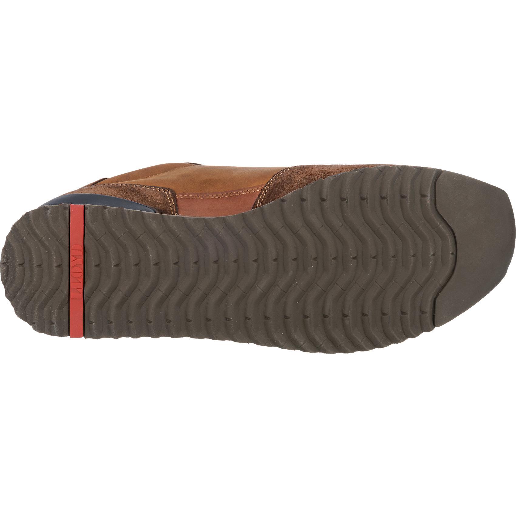 Neu LLOYD Edwin Sneakers blau-kombi grau-kombi braun 5760325