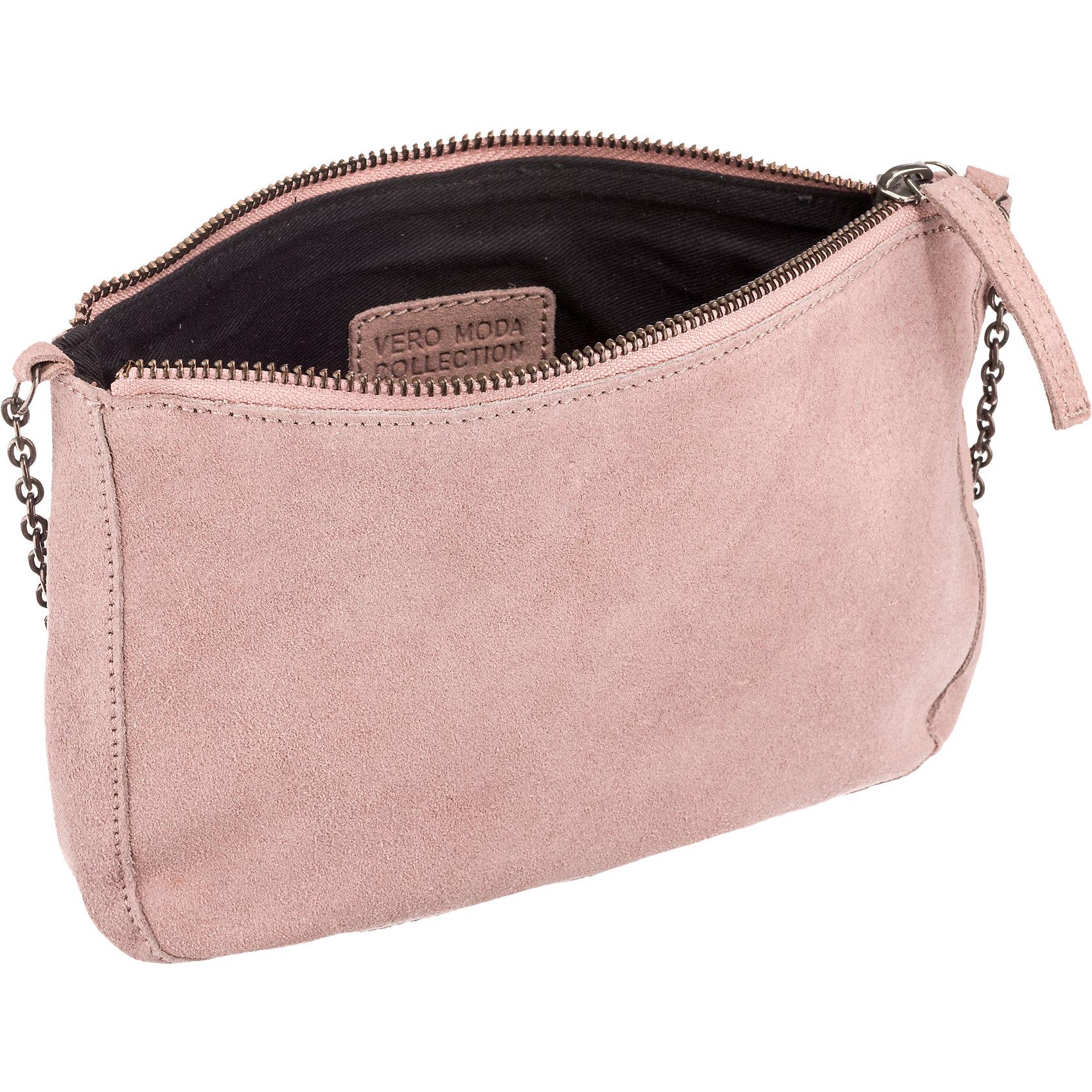 Neu-Vero-Moda-Handtasche-rosa-schwarz-5703124