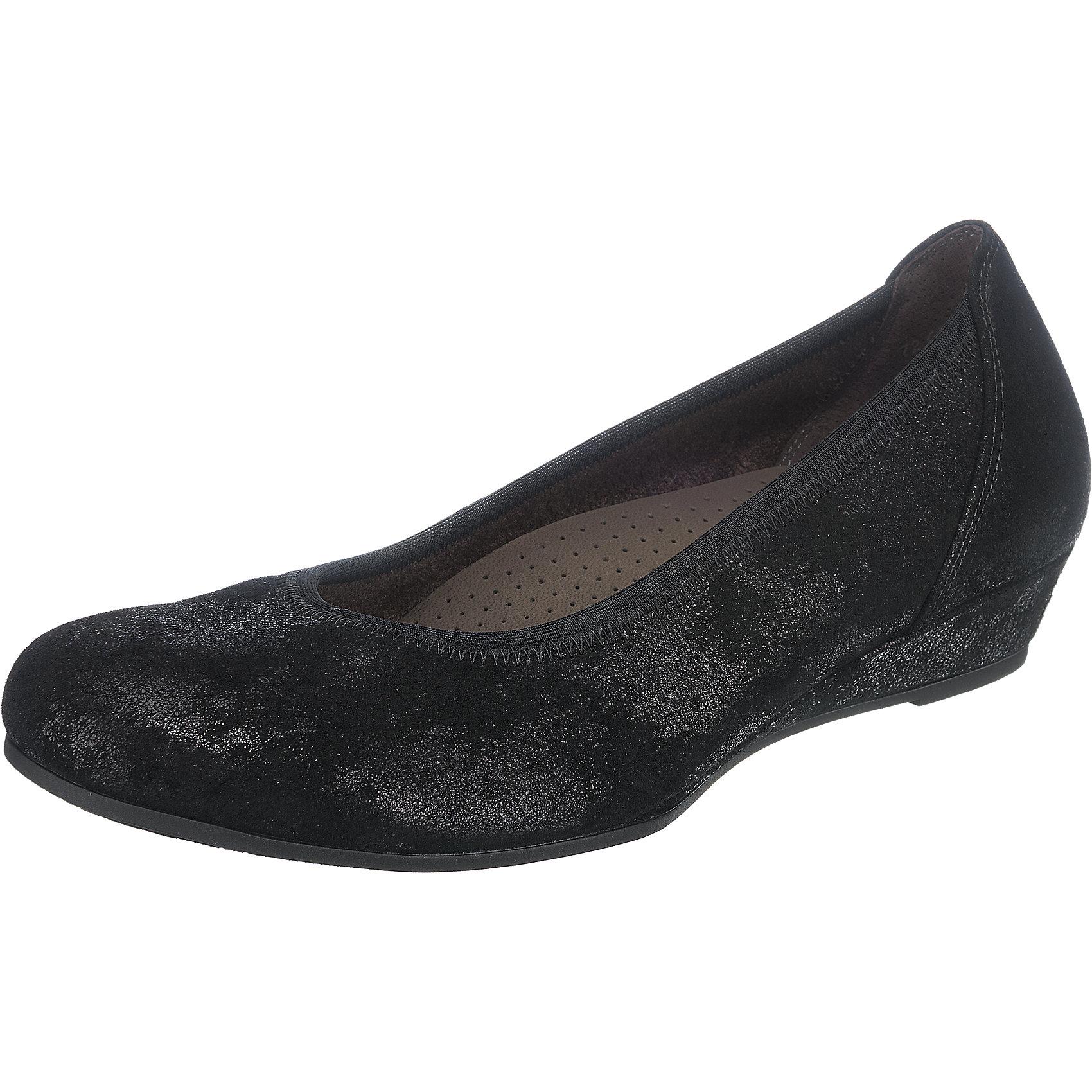 Neu Gabor Keilpumps 5781063 für Damen beige schwarz