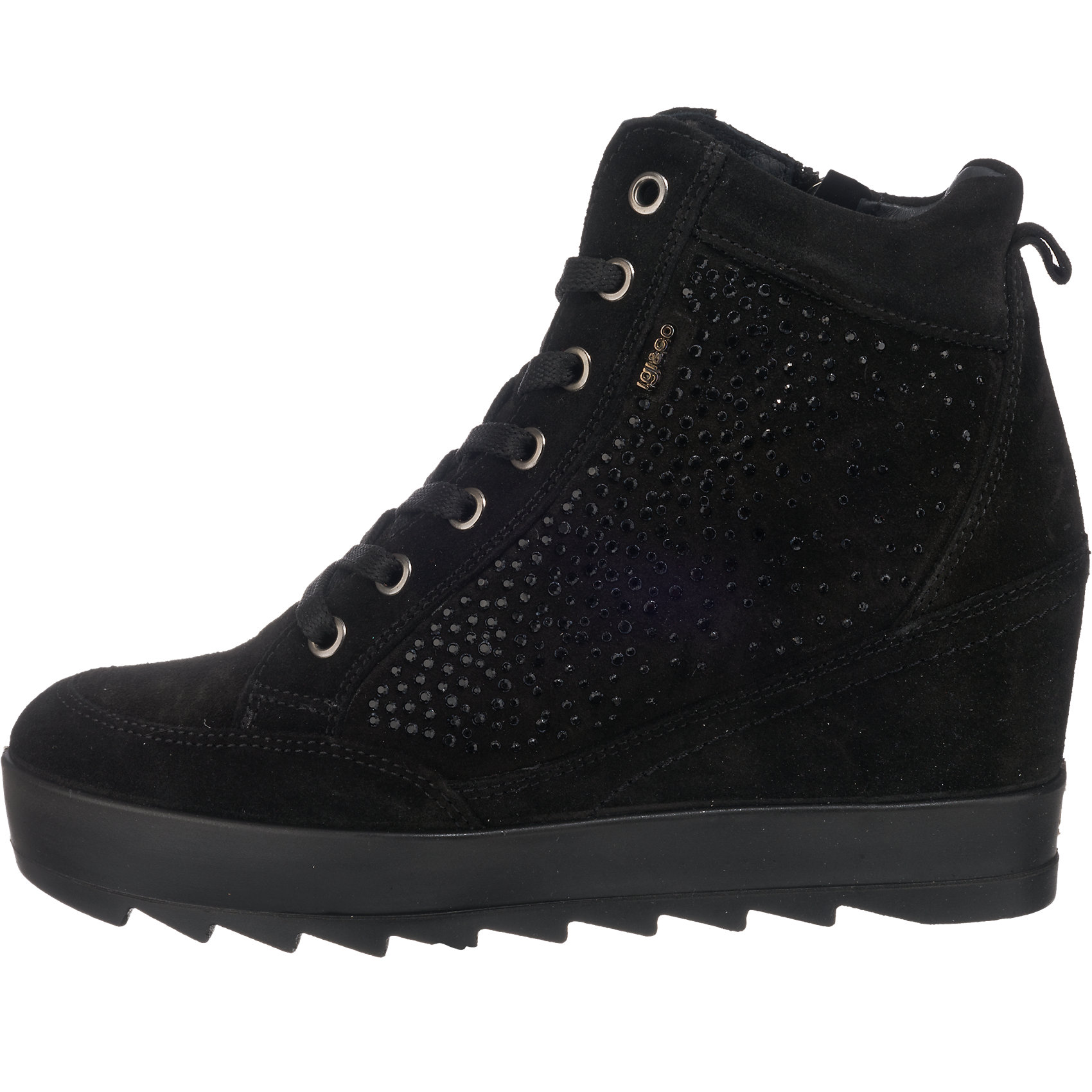Neu IGI /& CO Sneakers 6744449 für Damen schwarz