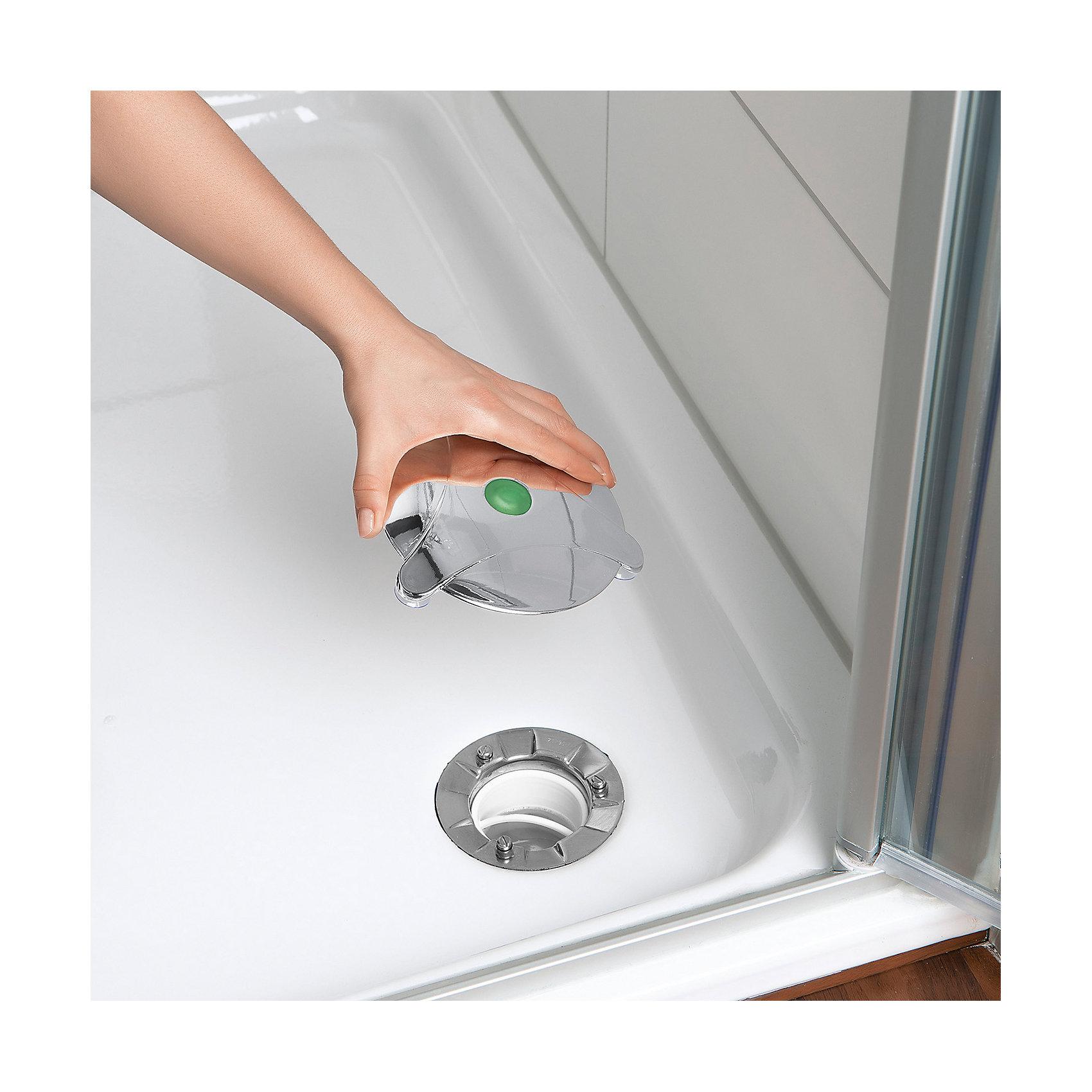 Neu Abfluss-Fee für Duschen mit Duftstein und Haarfänger 6973953 silber