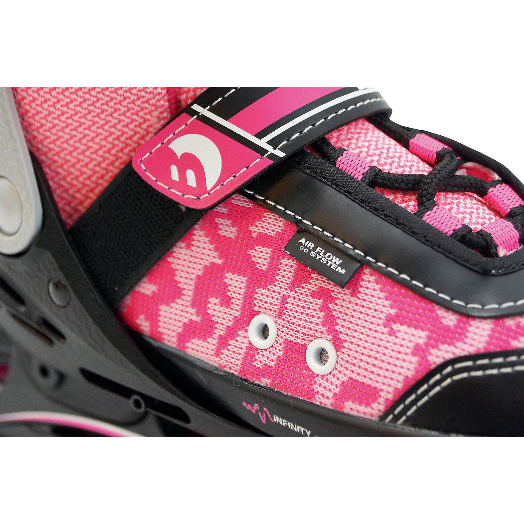 Neu Best Sporting Inliner blau 6976257 blau pink Inlineskating