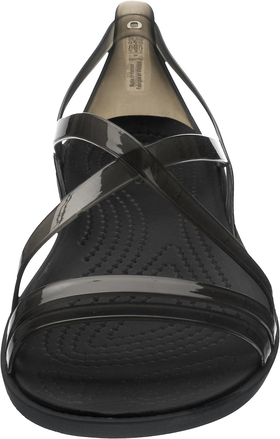 Neu CROCS Isabella Strappy Sandal W Blk Komfort-Sandalen 7217073 für Damen