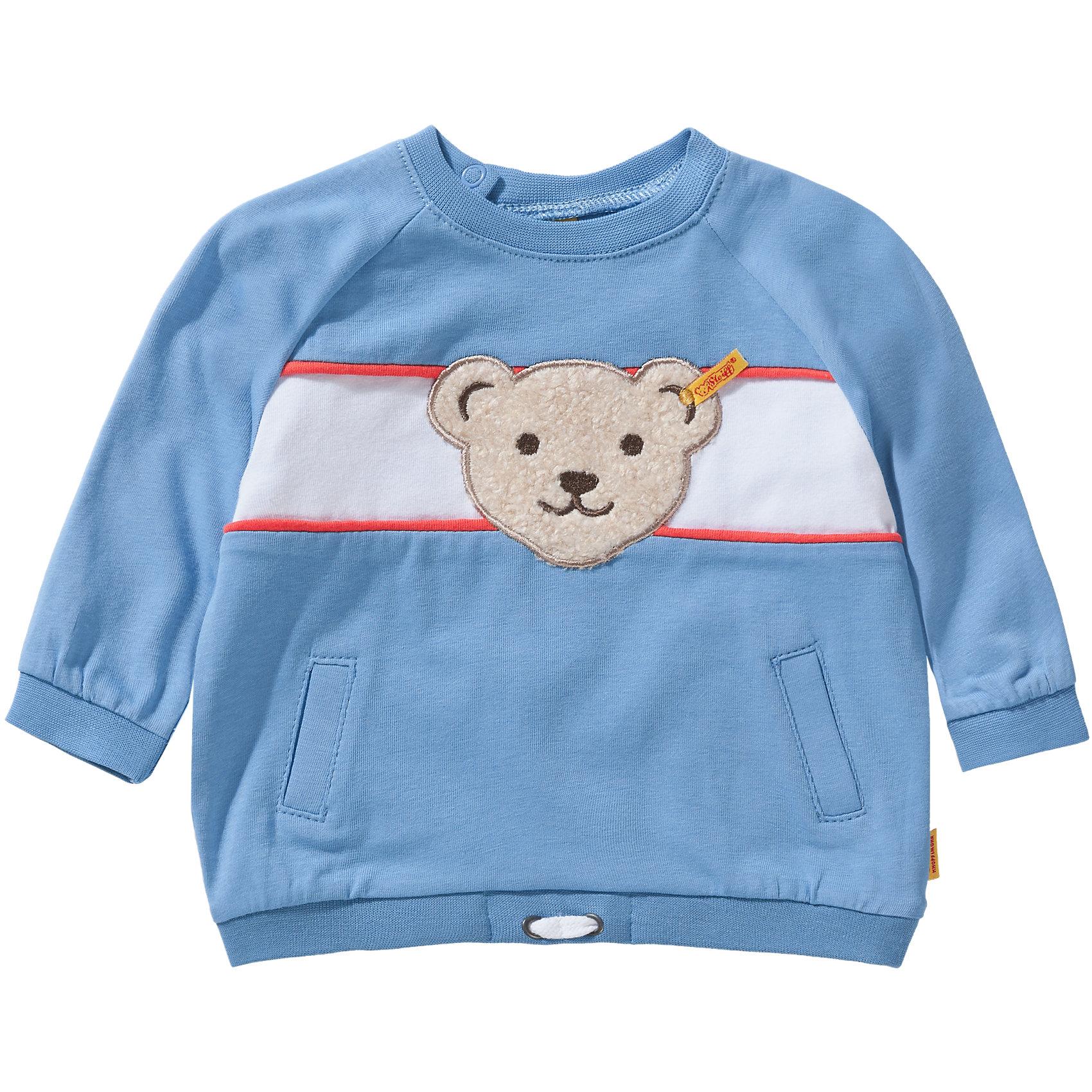 Neu Steiff Baby Sweatshirt für Jungen 7368662 für Jungen blau