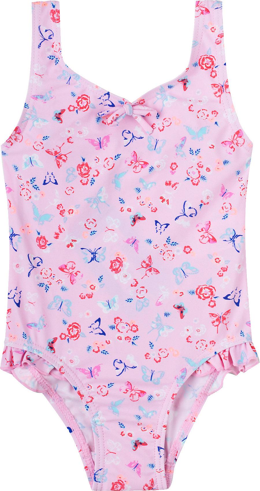 UV-Schutz 7437046 für Mädchen rosa Neu Sanetta Kinder Badeanzug