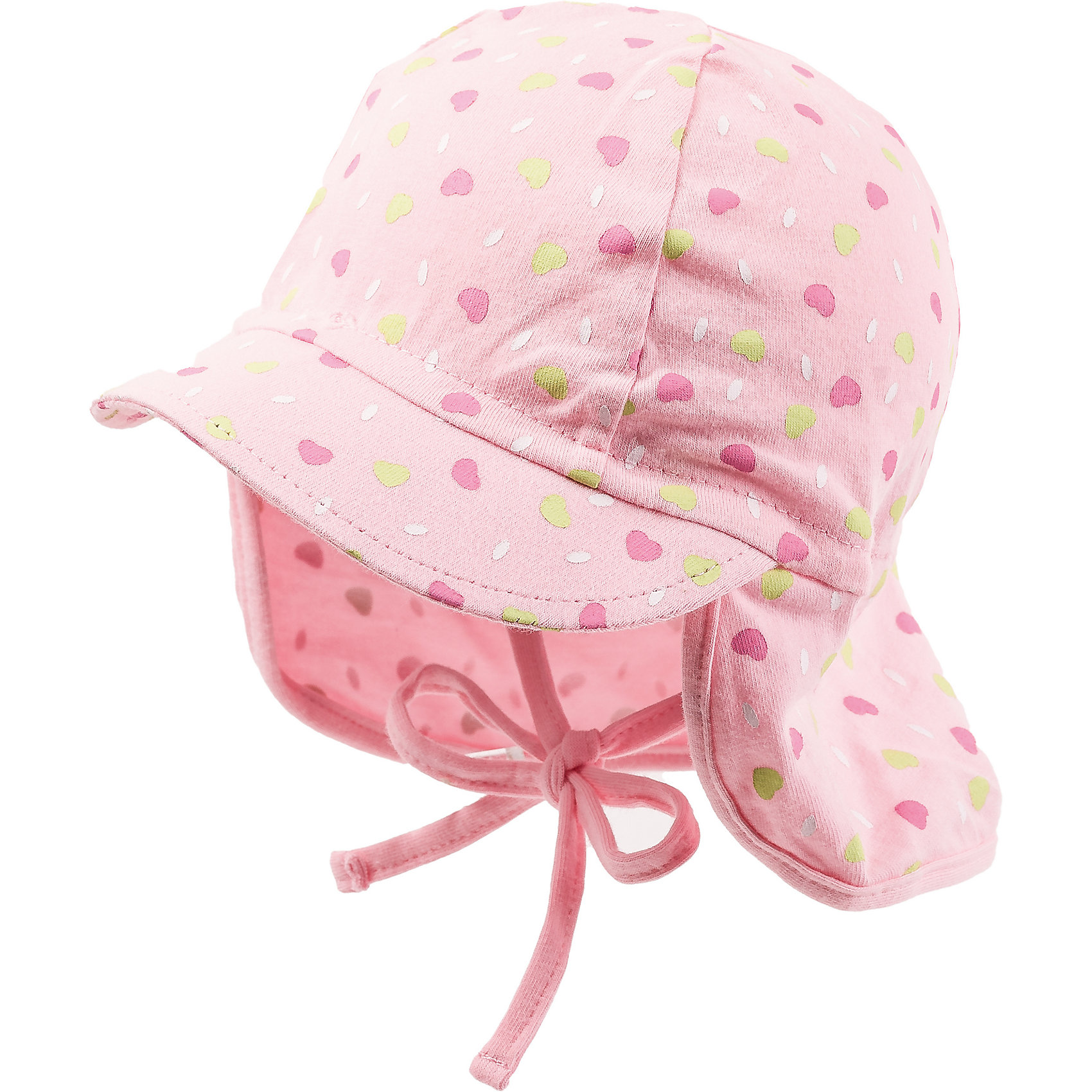 Neu MaxiMo Baby Sonnenhut mit Nackenschutz zum Binden für Mädchen 7439299
