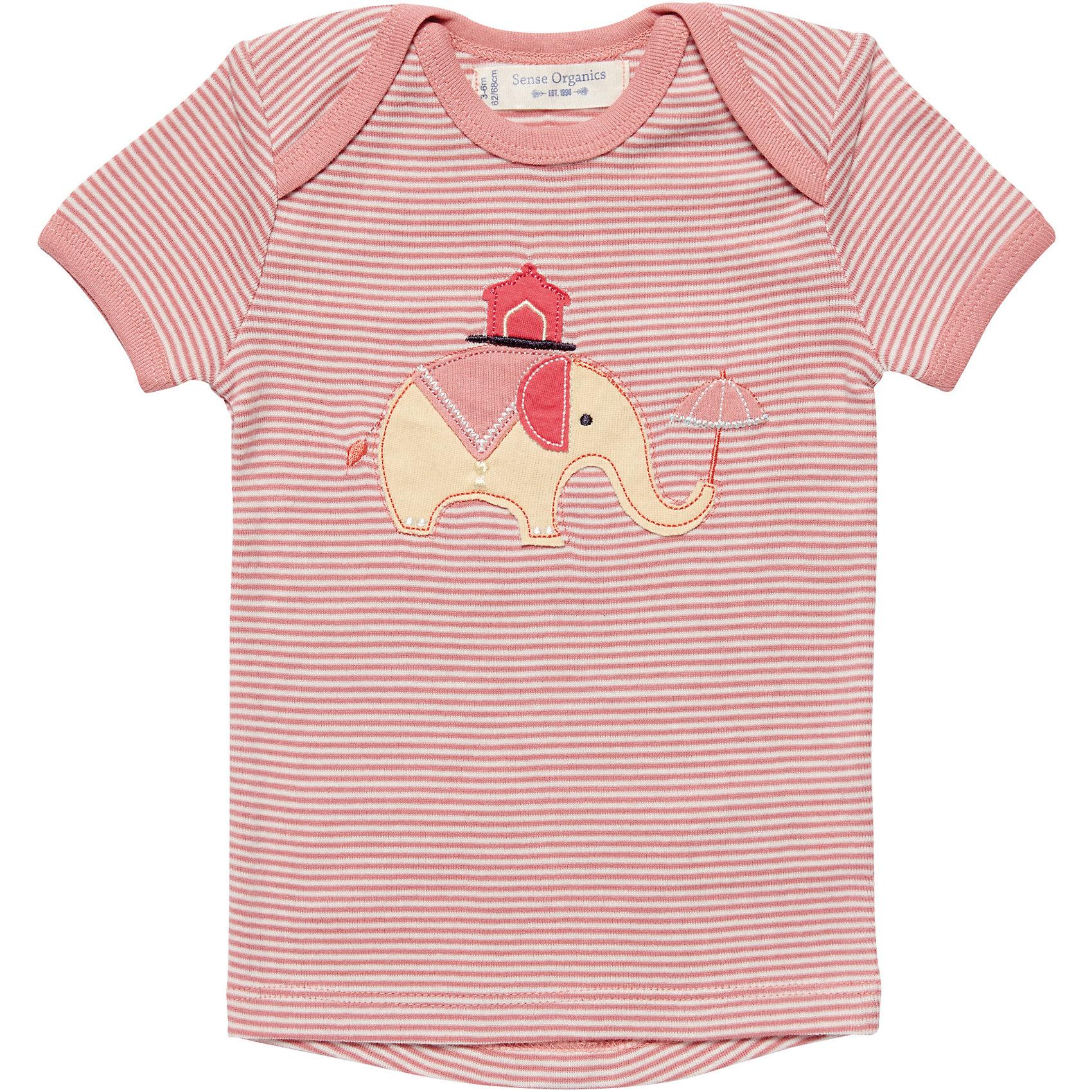Organic Cotton 7574242 für Mädchen Neu Sense Organics Baby T-Shirt für Mädchen