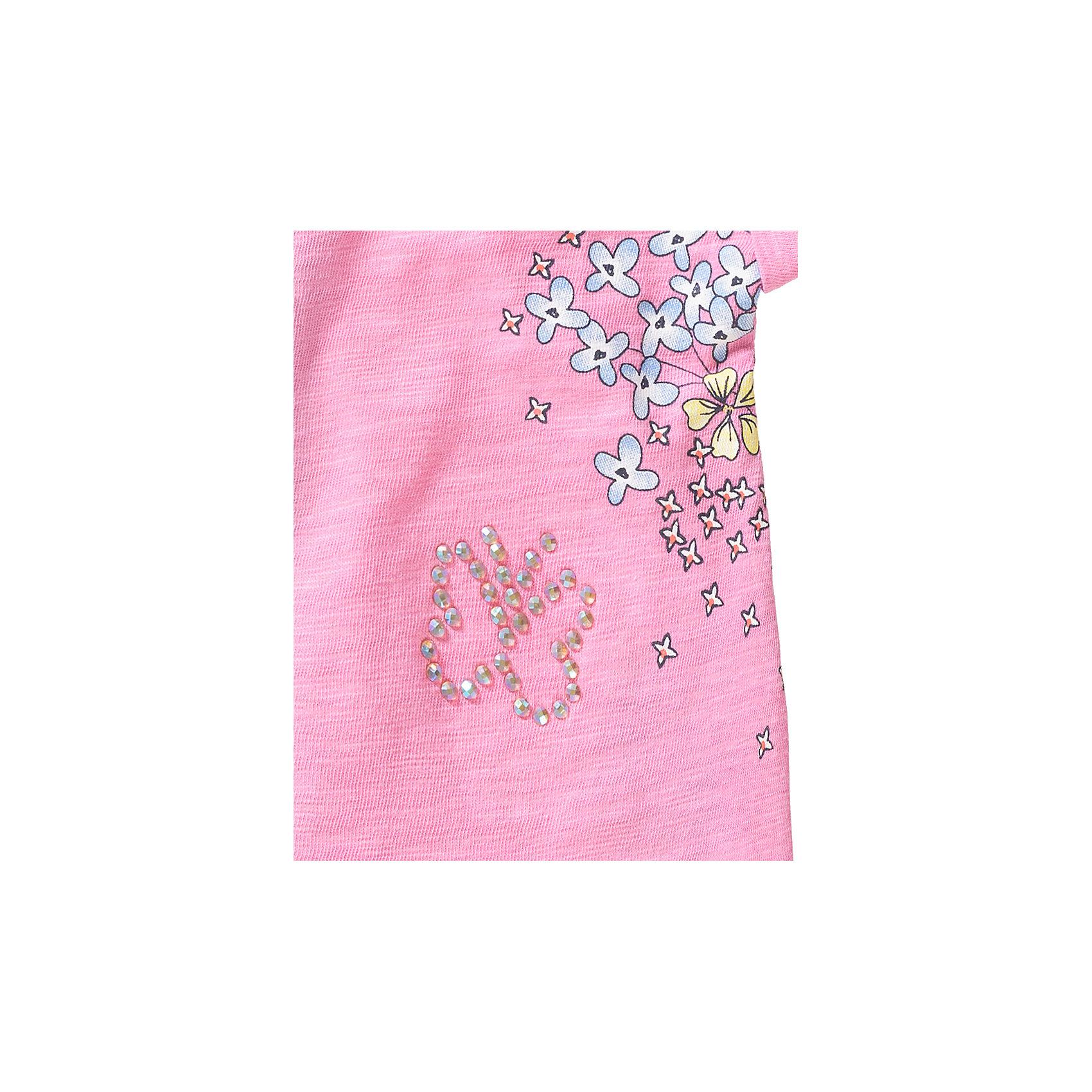 Neu s.Oliver Baby T-Shirt mit Blumen für Mädchen 7608924 für Mädchen