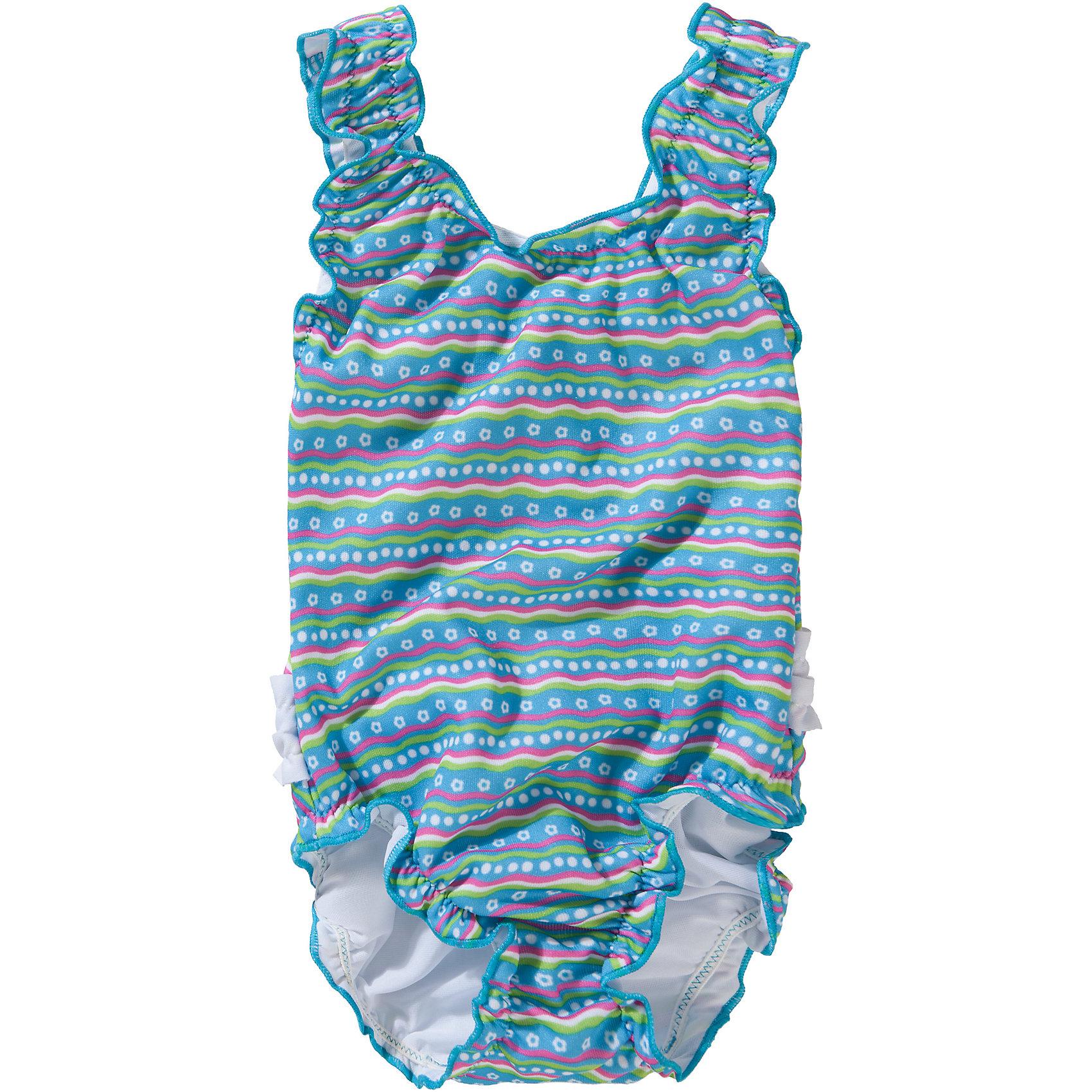 Neu fashy Baby Badeanzug 7643352 für Mädchen türkis