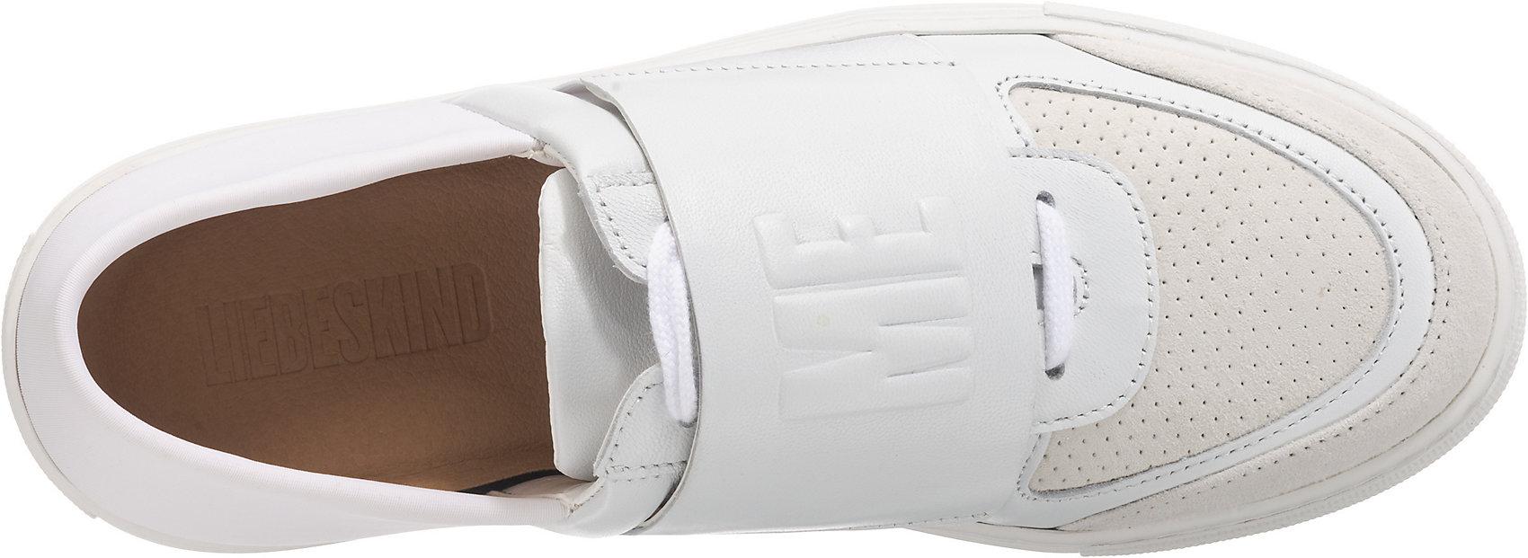 Neu Liebeskind Berlin Sneakers Low 7763285 für Damen weiß