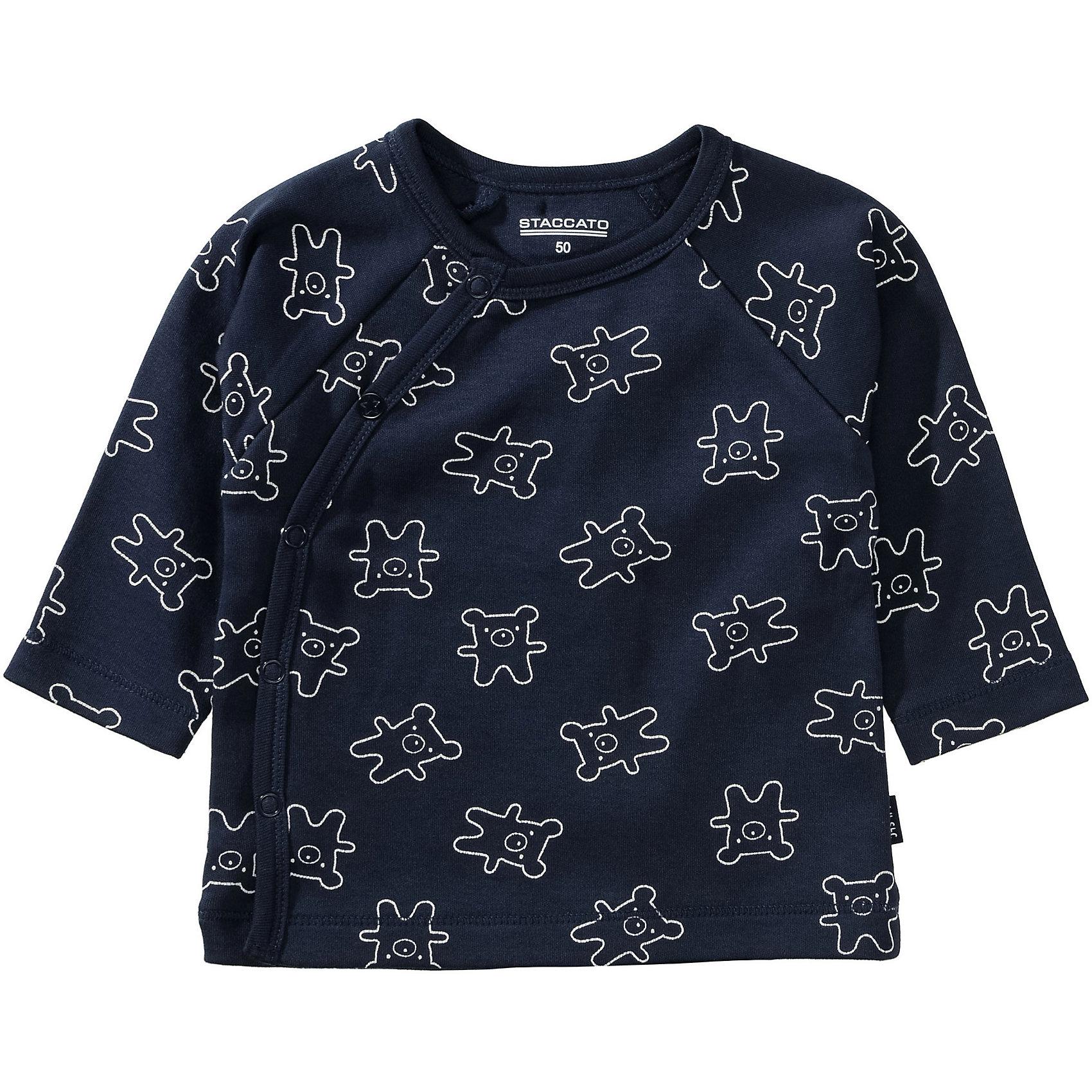 Organic Cotton 8025049 für Jungen Neu STACCATO Baby Wickelshirt für Jungen