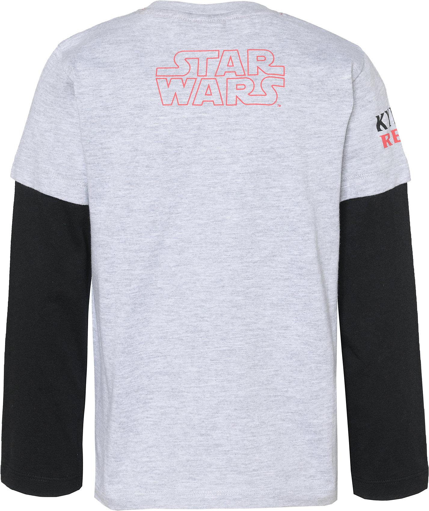 Neu Star Wars Langarmshirt für Jungen 8539604 für Jungen grau