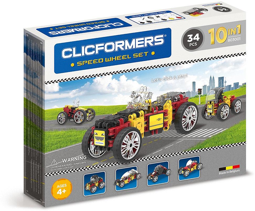 Rennwagen Set Neu Clicformers 34 Stück 8564014 bunt
