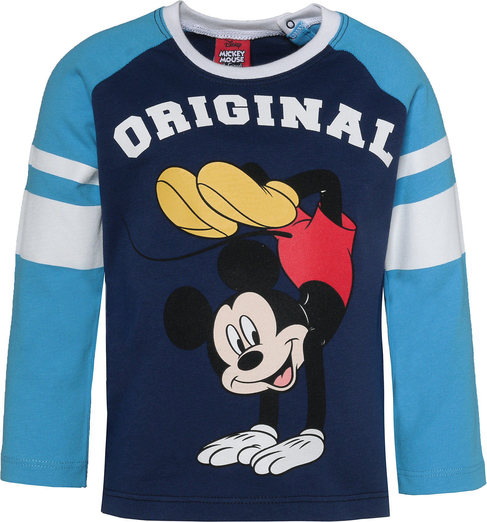 Neu Disney Mickey Mouse /& friends Baby Langarmshirt für Jungen 8572428