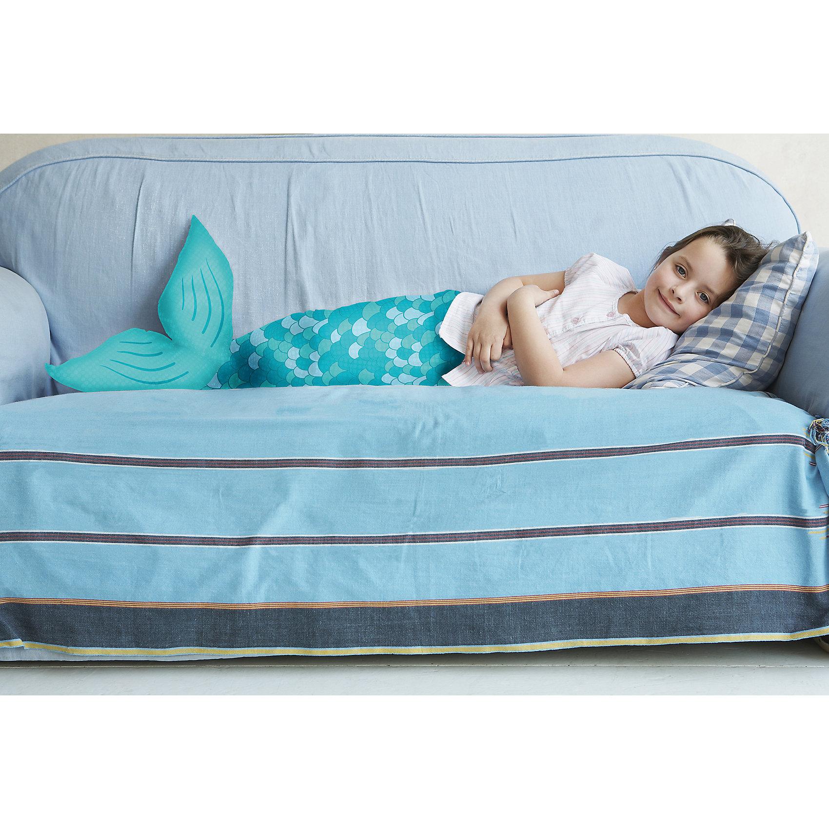 Neu ACHOKA® Kuscheldecke Snuggle Hai 8685656 blau türkis