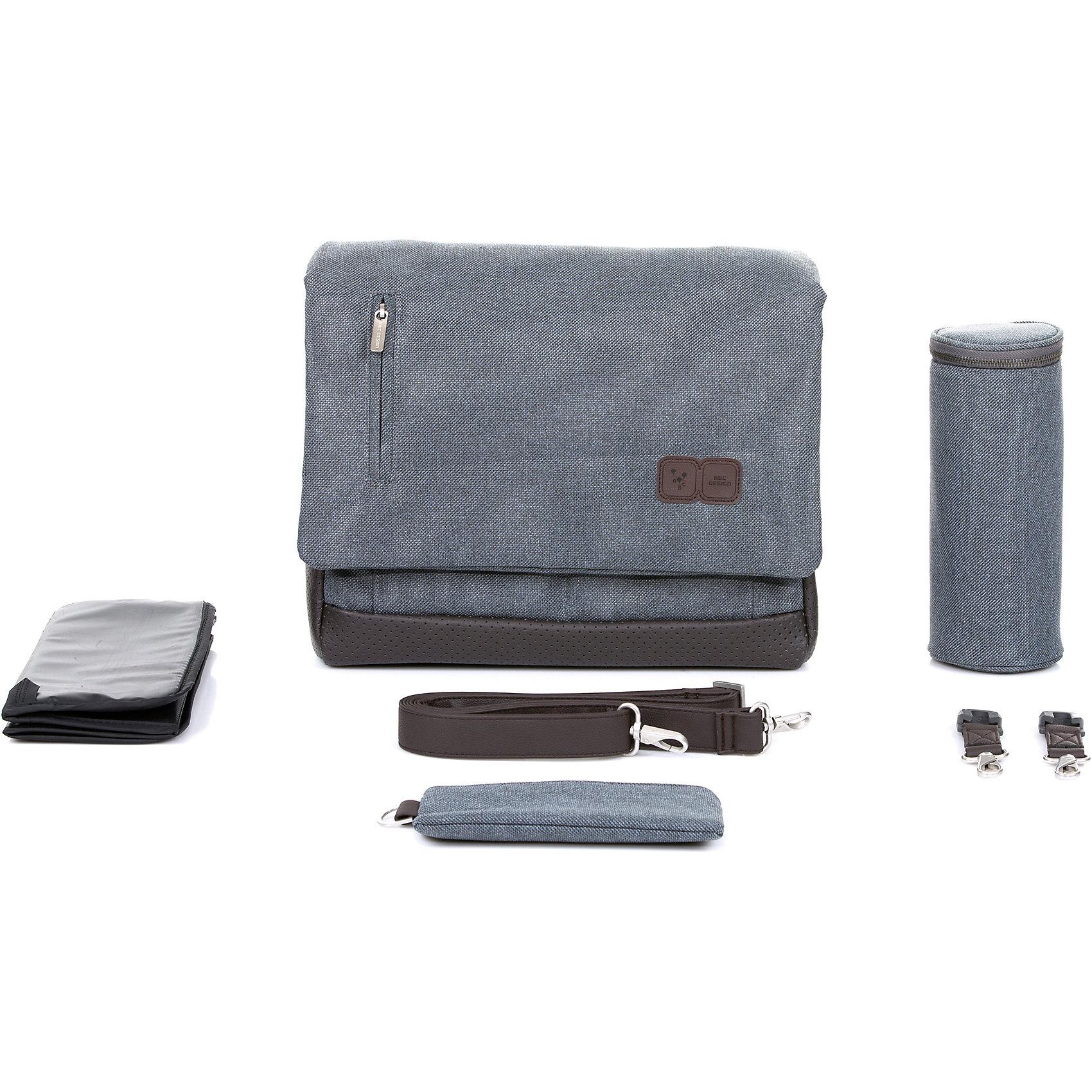 graphite grey 7013038 rosa blau Neu ABC Design Wickeltasche Urban