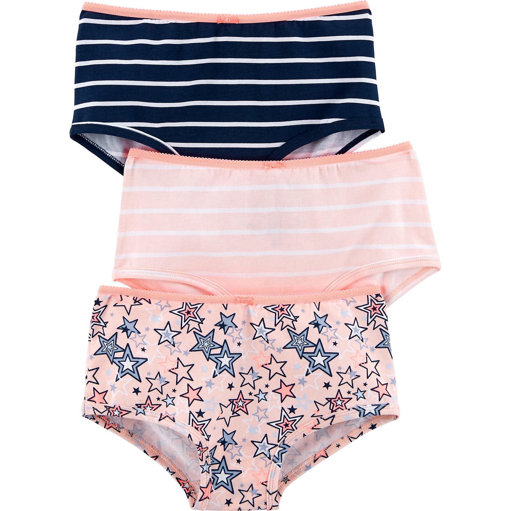 Neu OshKosh Slips 3er Pack für Mädchen 9456828 für Mädchen rosa