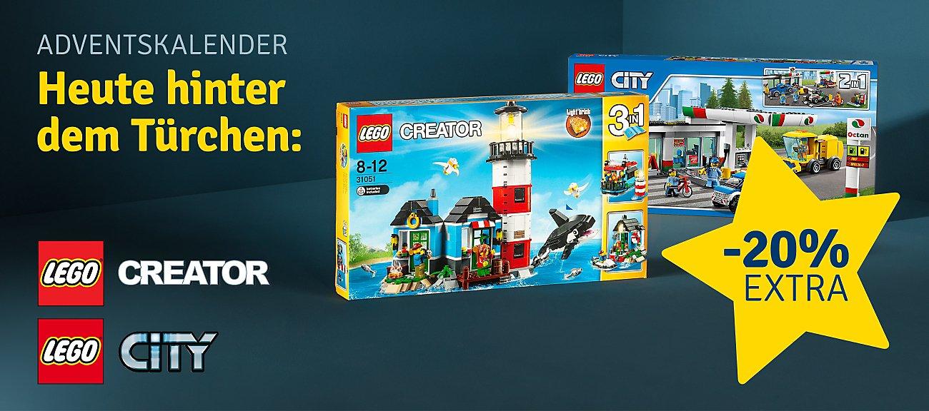 20% auf LEGO City und LEGO Creator
