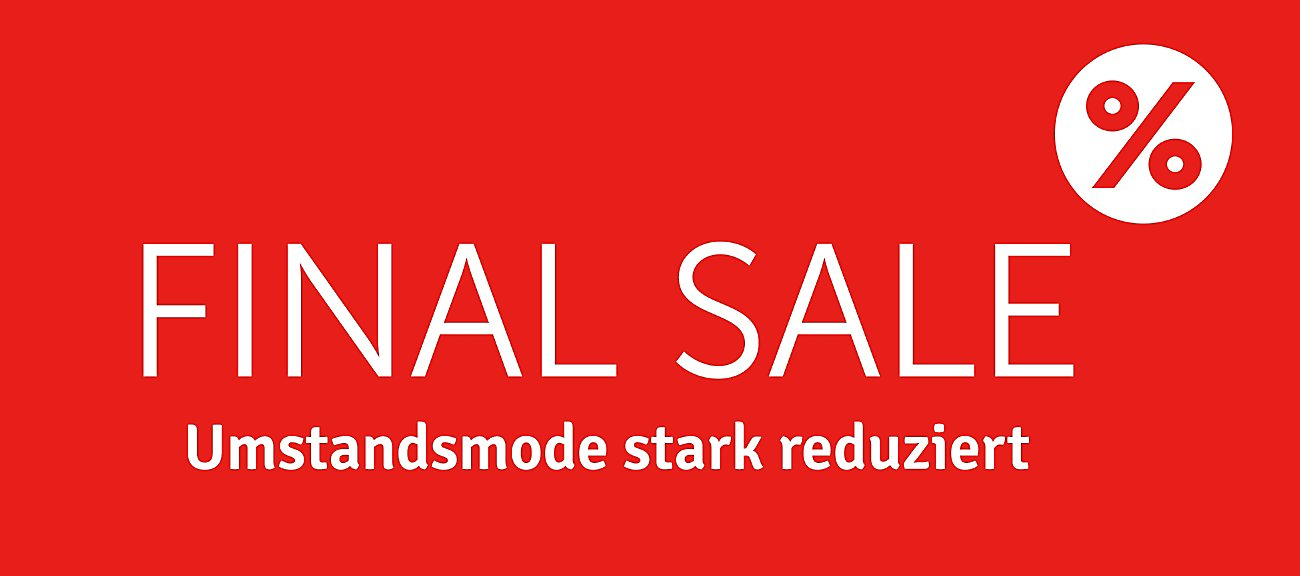 Final Sale Umstandsmode