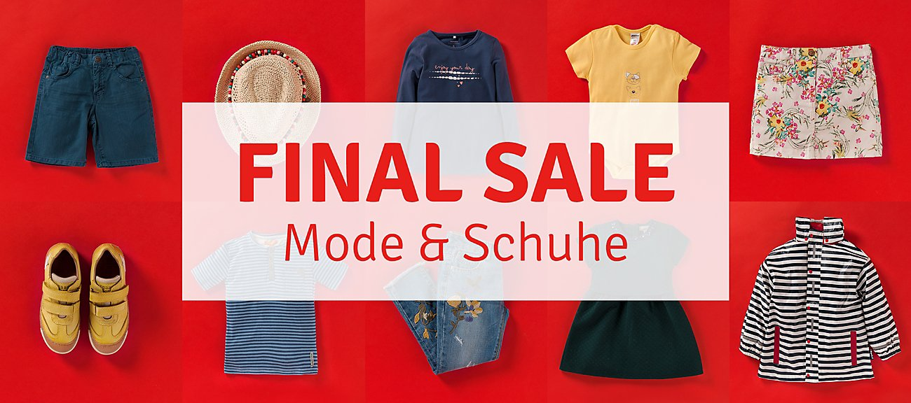 Final Sale- Mode & Schuhe