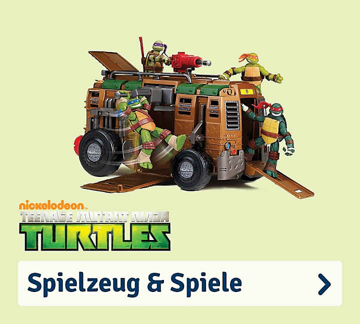 teenage mutant ninja turtles fanartikel online kaufen mytoys. Black Bedroom Furniture Sets. Home Design Ideas