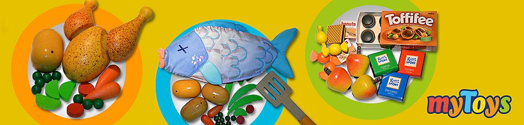 Weihnachtliche Gerichte mit Spiellebensmitteln