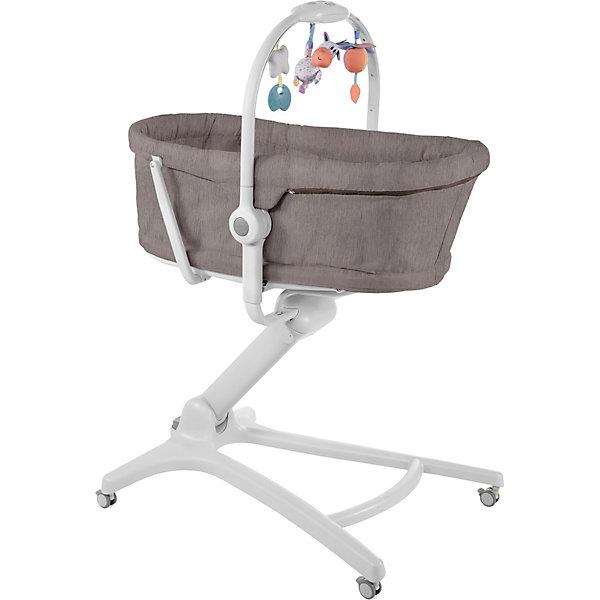 Купить Кроватка-стульчик Chicco Baby Hug 4in1, legend, Китай, темно-серый, Унисекс