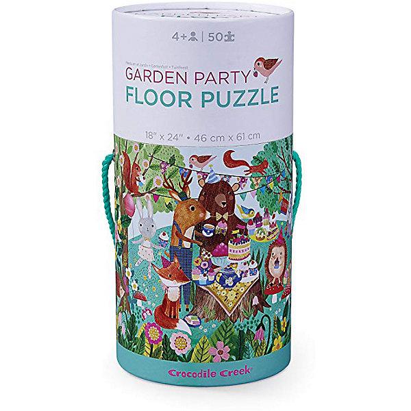 Пазл Crocodile Creek Праздник в саду , 50 элементов, Китай, Унисекс  - купить со скидкой