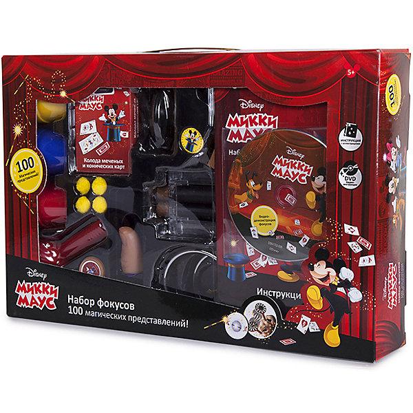 Disney Набор для фокусов Disney Mickey Mouse, 100 фокусов набор фокусника маленький маг для демонстрации 200 фокусов mlm1702 003