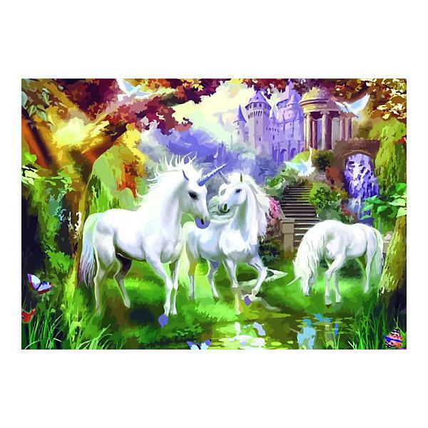 Купить Картина по номерам Color KIT Единороги , 50х65 см, Россия, разноцветный, Унисекс