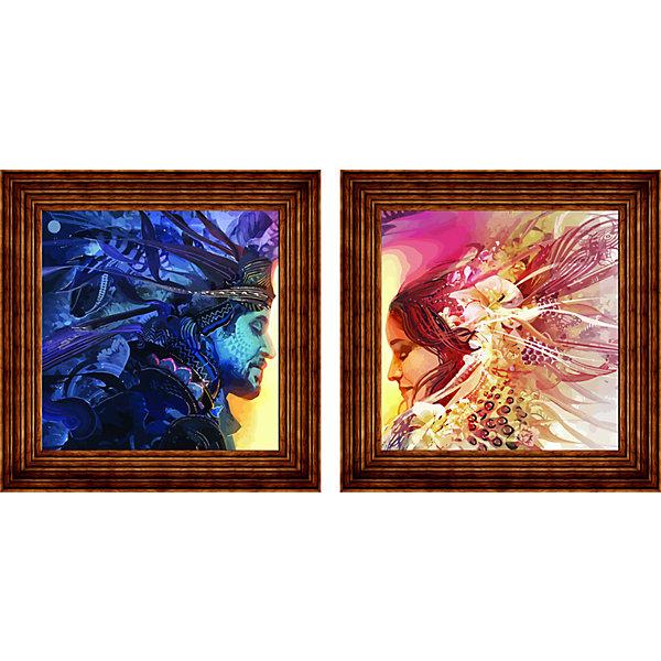 Color KIT Картина-диптих по номерам Color KIT
