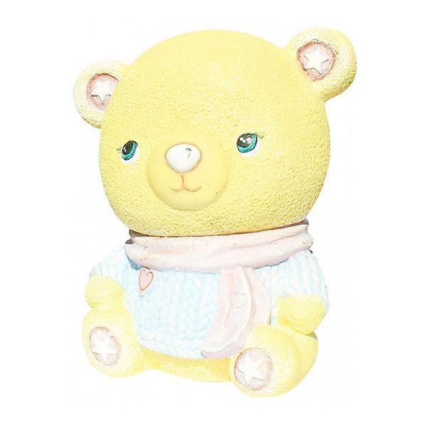 Color KIT Виниловая копилка-раскраска Мишка-мальчик