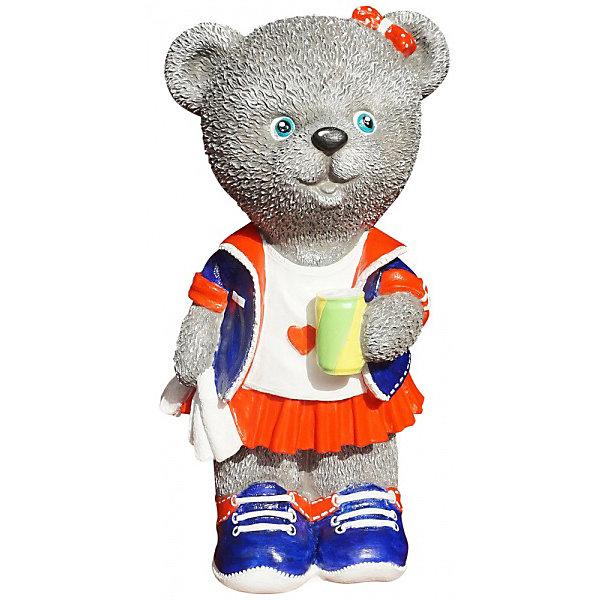 Color KIT Виниловая копилка-раскраска Мишка-спортсменка