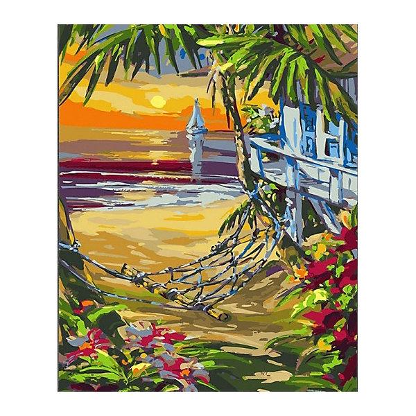 Купить Картина по номерам Color KIT Гамак , 40х50 см, Россия, разноцветный, Унисекс