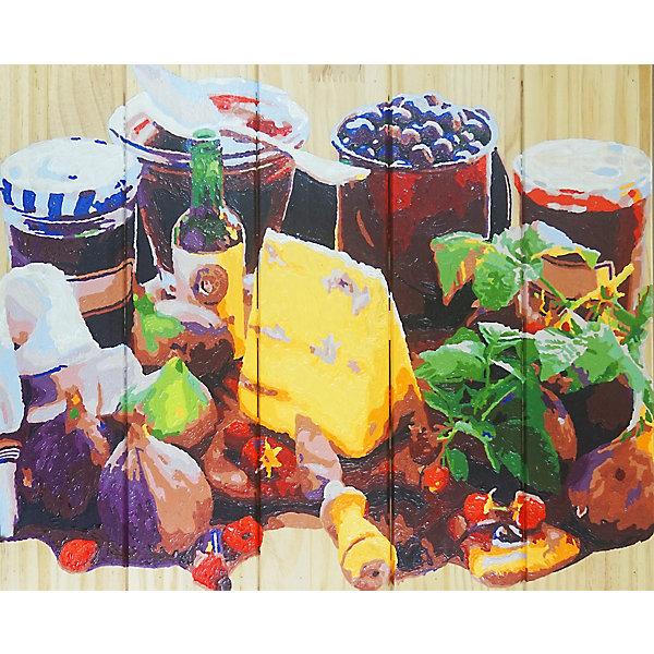 Купить Картина по номерам на дереве Color KIT На десерт , 40х50 см, Россия, разноцветный, Унисекс