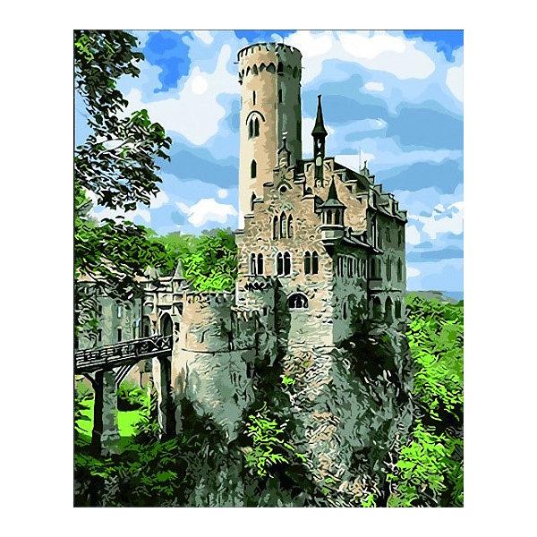Купить Картина по номерам Color KIT Рыцарский замок , 40х50 см, Россия, разноцветный, Унисекс