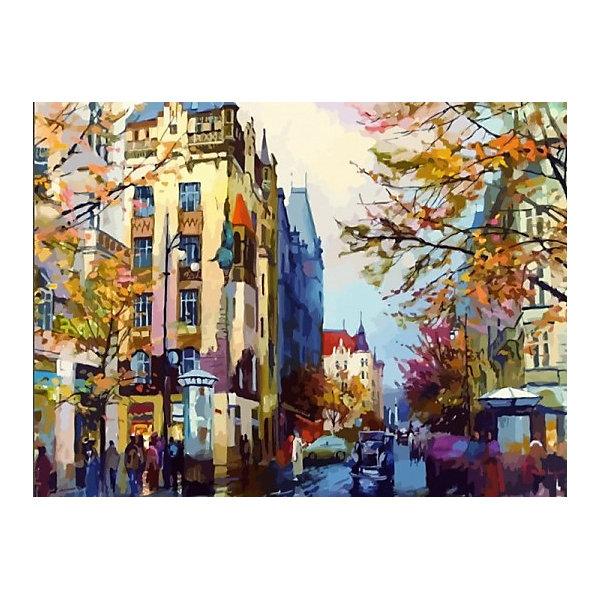 Купить Картина по номерам Color KIT Осенняя Европа , 40х50 см, Россия, разноцветный, Унисекс