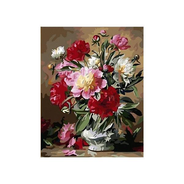 Купить Картина по номерам Color KIT Пионы в цвету , 40х50 см, Россия, разноцветный, Унисекс