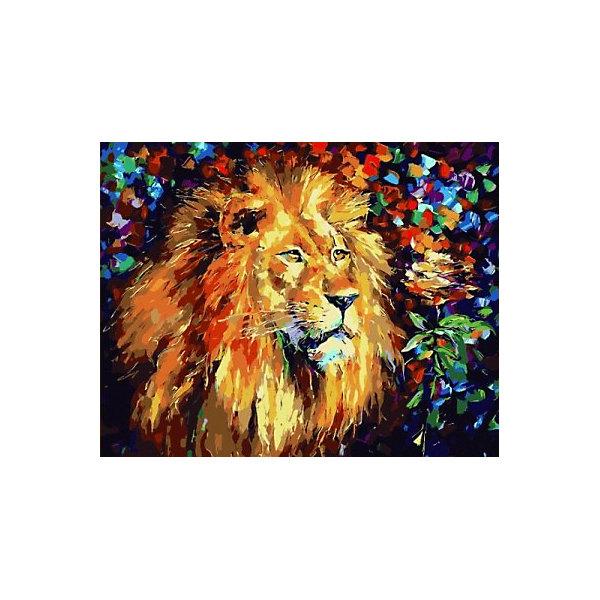 Купить Картина по номерам Color KIT Благородный лев , 40х50 см, Россия, разноцветный, Унисекс