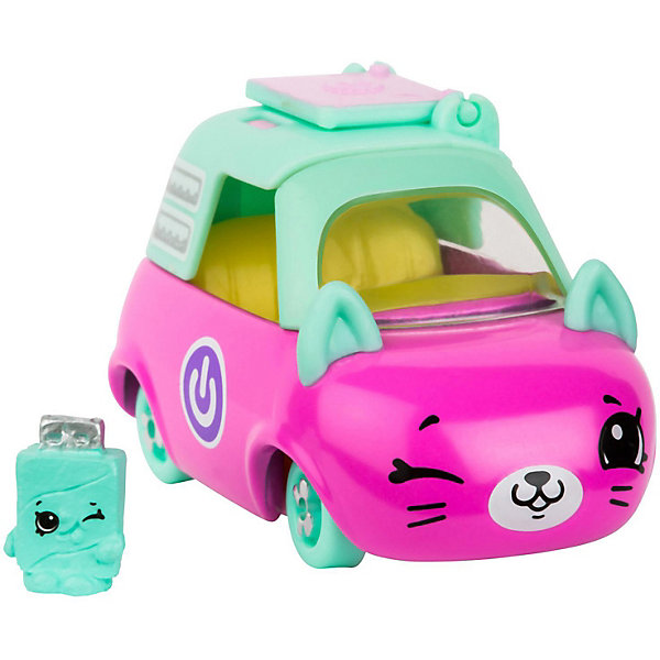 Moose Машинка Moose Cutie Car Лэптоп Лимо с фигуркой Shopkins, 3 сезон moose машинка moose cutie car мото мороженое с фигуркой shopkins 3 сезон