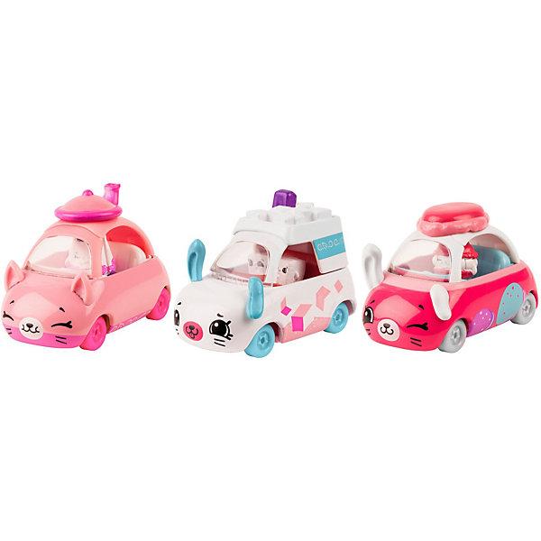 Moose Набор машинок Moose Cutie Cars с фигурками Shopkins, Чайная минутка игра moose шопкинс шопис путешествие в европу 56804