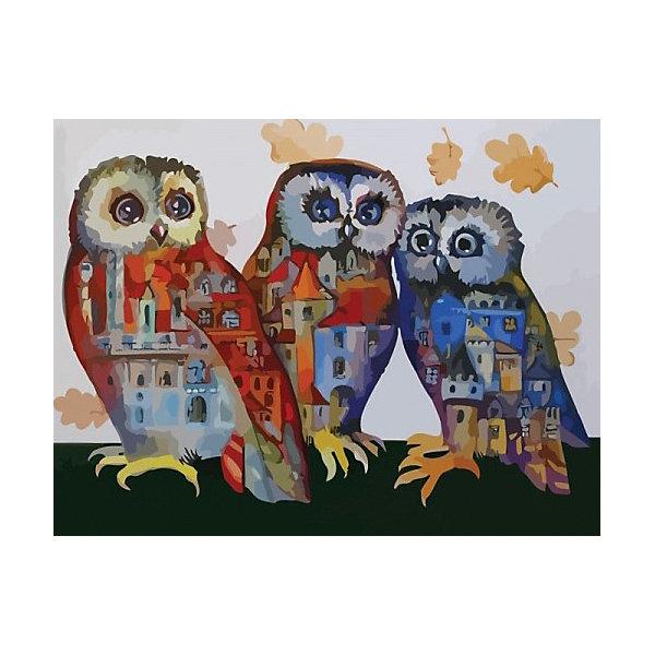 Купить Картина по номерам Color KIT Городские сны , 30х40 см, Россия, разноцветный, Унисекс
