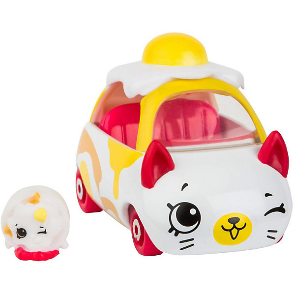 купить Moose Машинка Moose Cutie Car Яичница с фигуркой Shopkins, 3 сезон